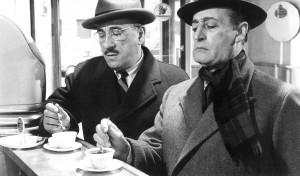 Italians drinking coffee