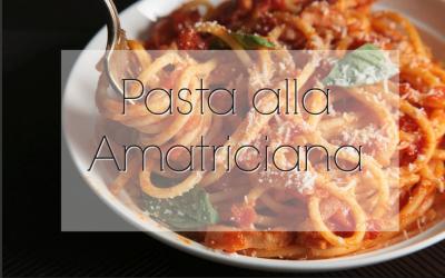 Amatriciana Recipe