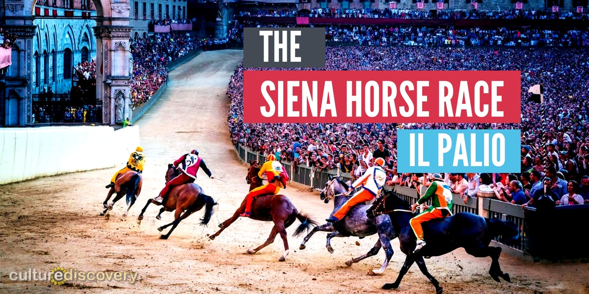 It's more than sport, the Siena horse race is life.