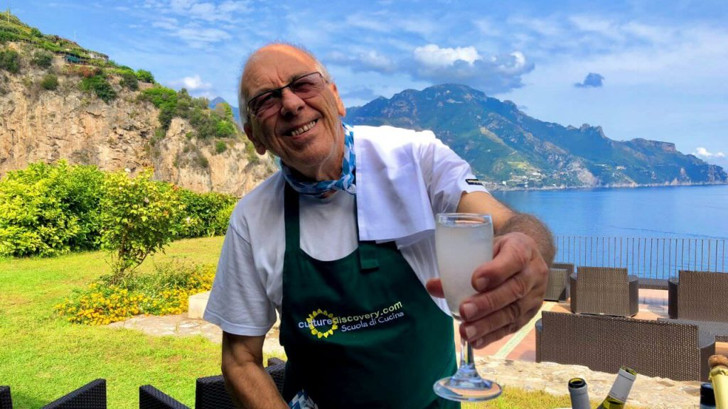 Drinks are on us in Amalfi