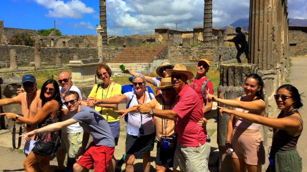 pompeii is the most visited archeological site in the world