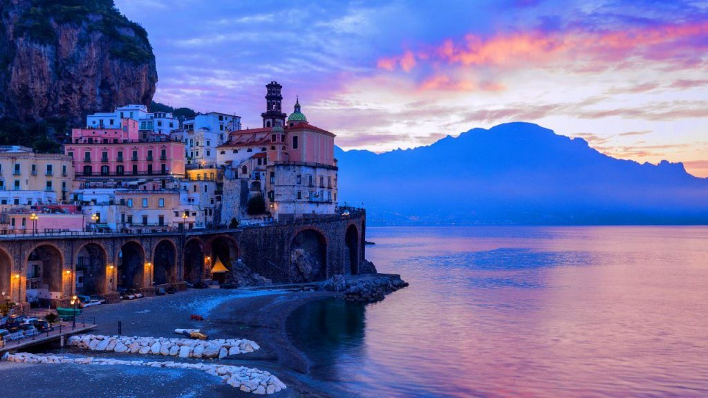 Amalfi Coast Vacation- Atrani from our villa