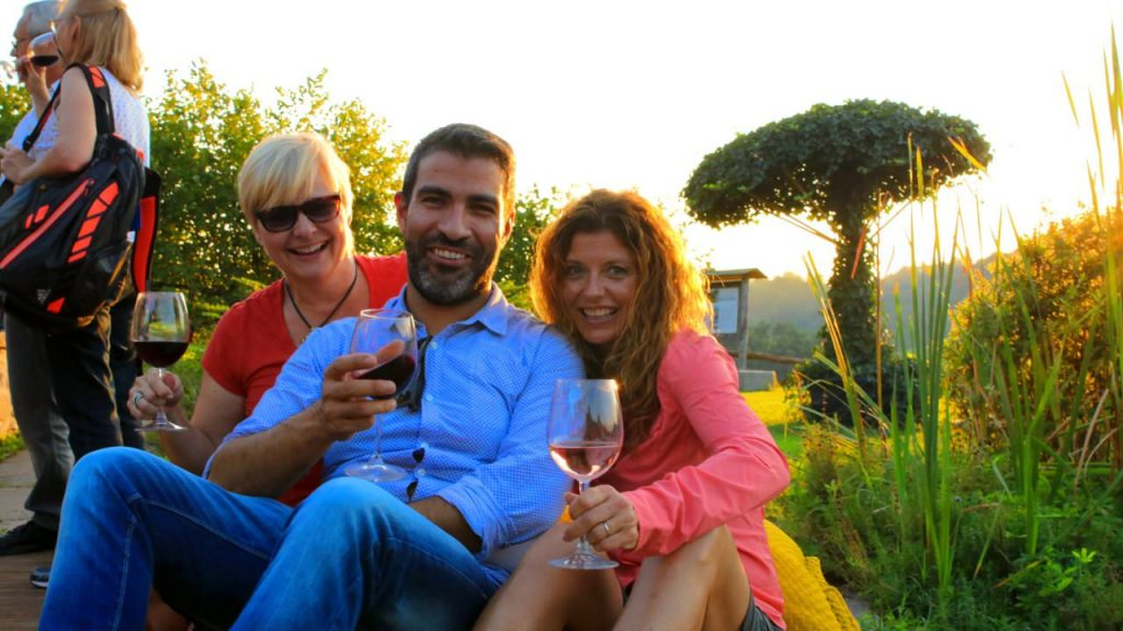 Tips for new travelers. Drink wine and relax