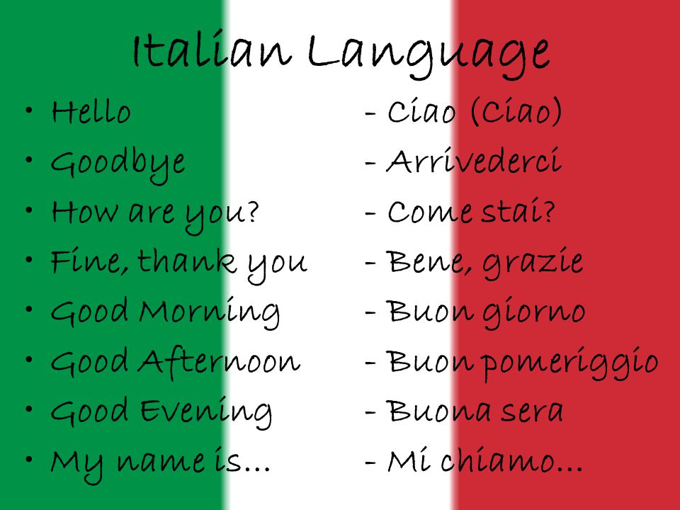 Italian phrases to know before you travel