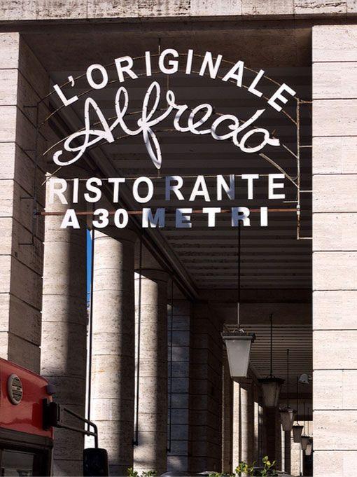 Fettuccine Alfredo Restaurant