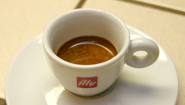 Italian coffee- caffè ristretto