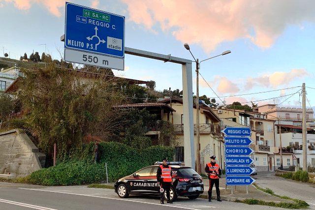 Police Stop in Reggio Calabria
