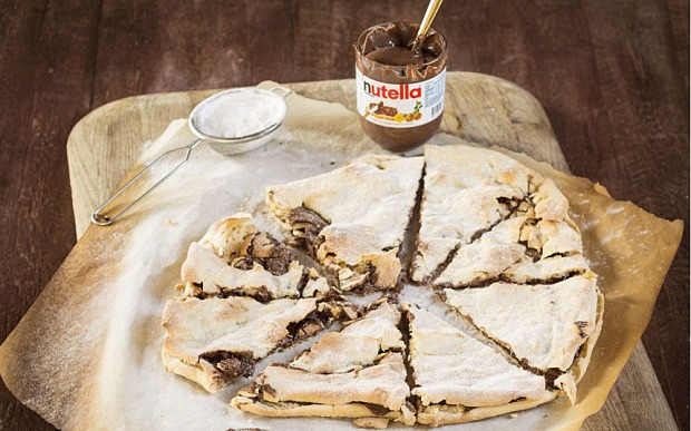 Nutella Pizza is the best