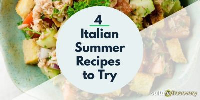 4 Italian Summer Recipes to Try